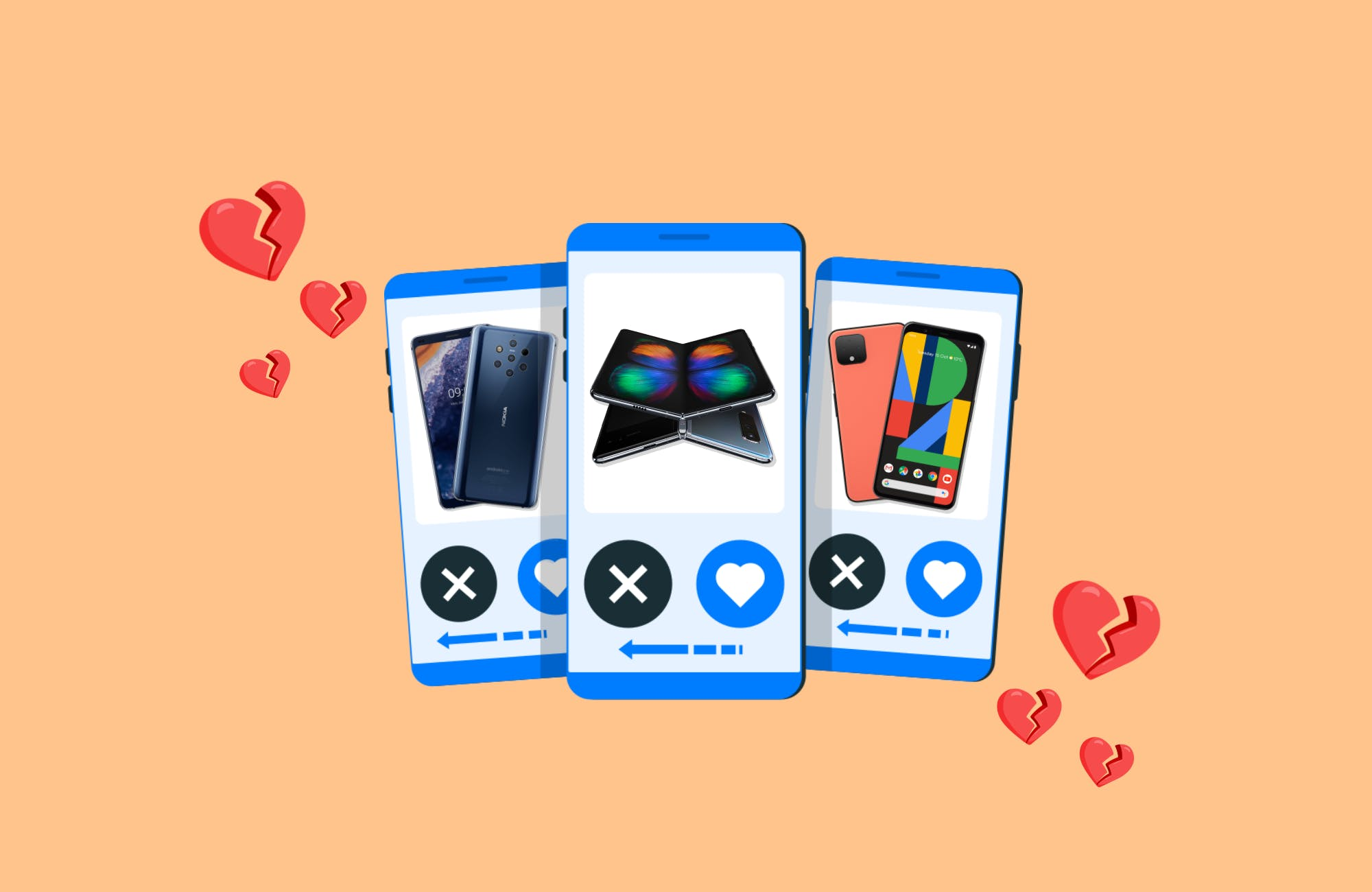 It's Not a Match… These Are the Phones We Would Swipe Left on This Valentine's Day