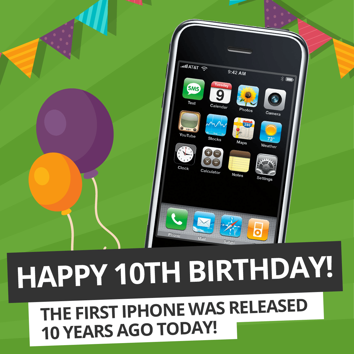 Happy 10th Birthday to the iPhone