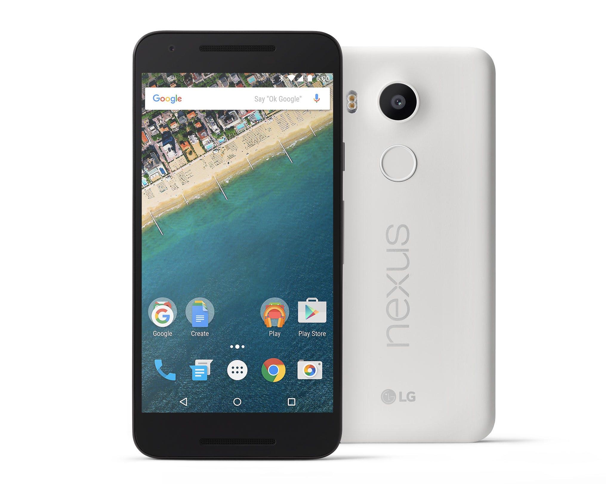 Google Nexus 5X publicly revealed