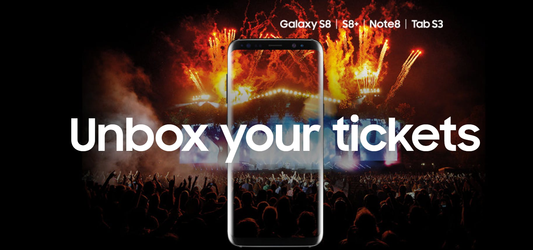 Samsung Drops Free Festival Tickets To Galaxy Flagship Buyers