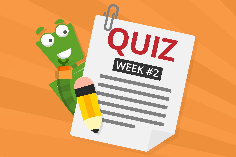 Wednesday Quiz #2 - Closeups!