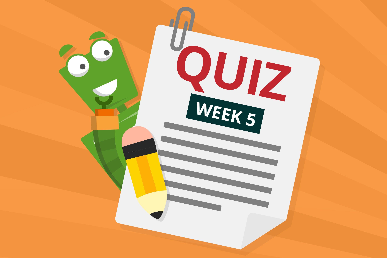 Quiz Week 5 - Mobile Phones in Movies