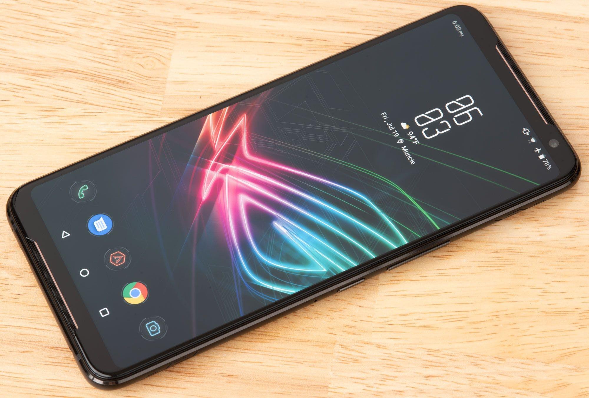 The Asus ROG Phone II has Maximum Mobile Gaming Specs