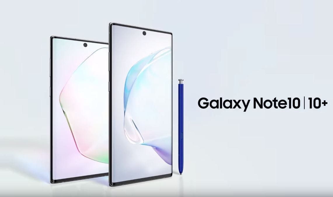 Samsung's Overkill Galaxy Note 10 Family is Official