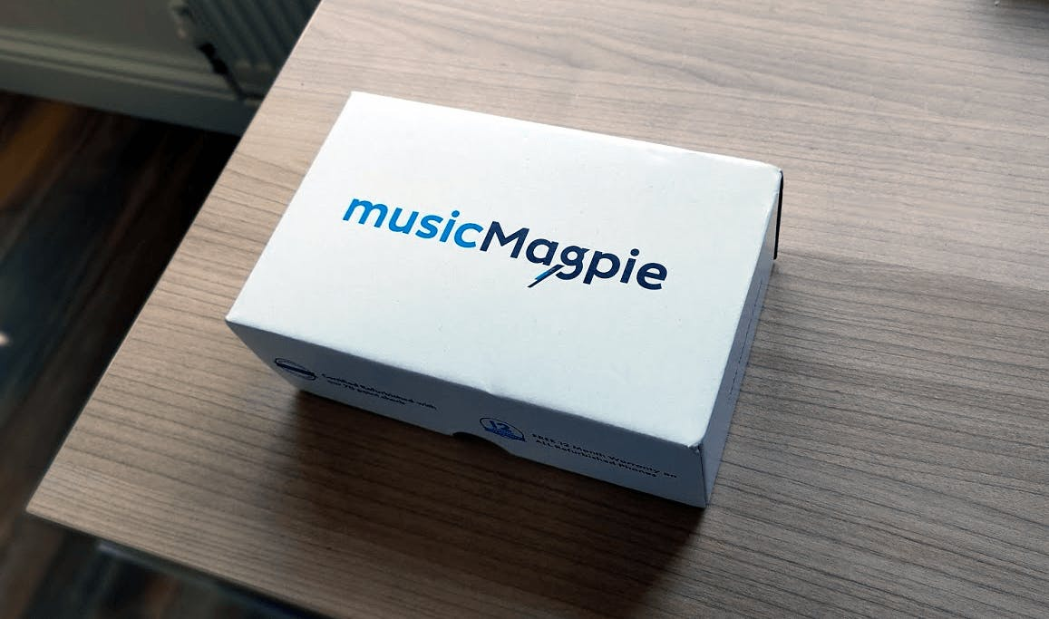 Refurbished Phone Example Packaging from Music Magpie