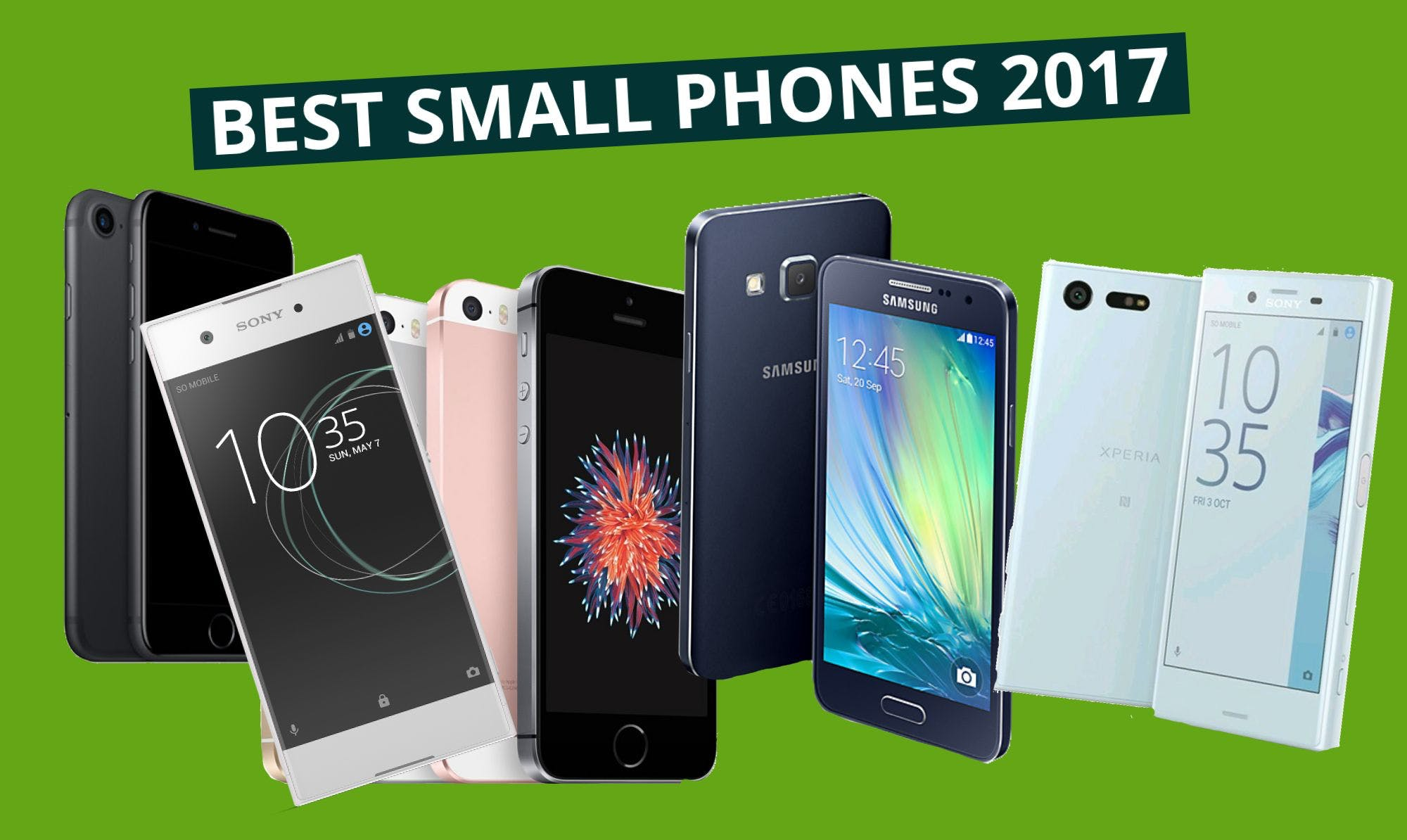 Best Small Mobiles Available in 2017