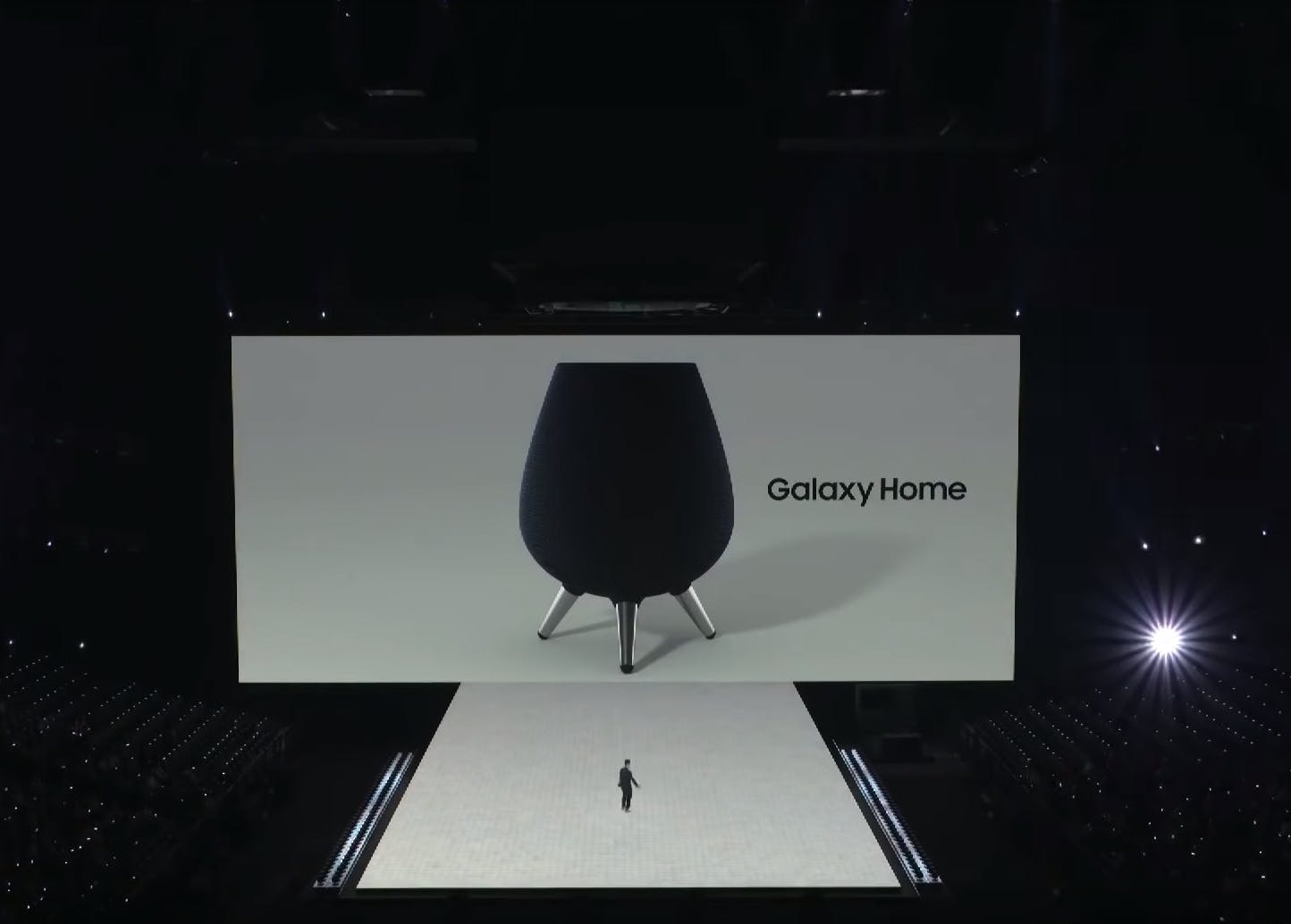 Galaxy Home unveiling. Samsung Unpacked Event 2018.