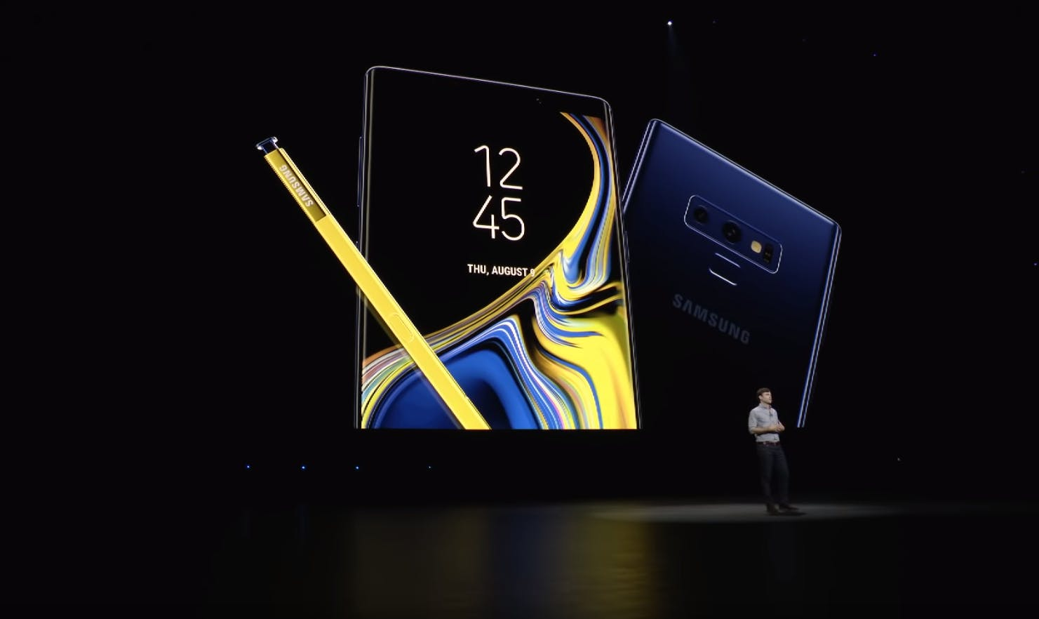 The Galaxy Note 9. Samsung Unpacked Event 2018.