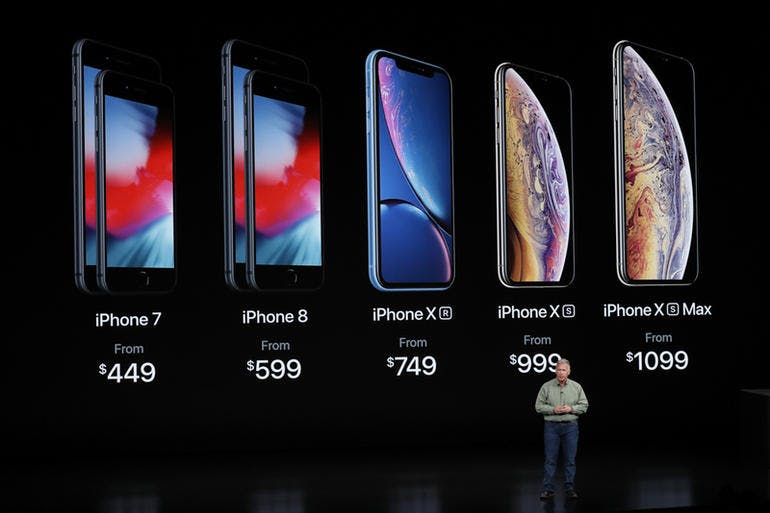 Apple keynote September 2018 Source: Apple / Youtube