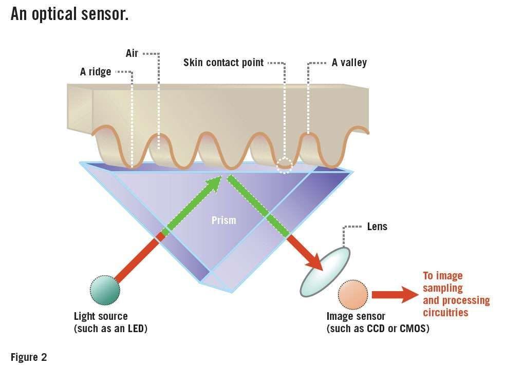 How the under-screen fingerprint sensor works - an eloquent design.