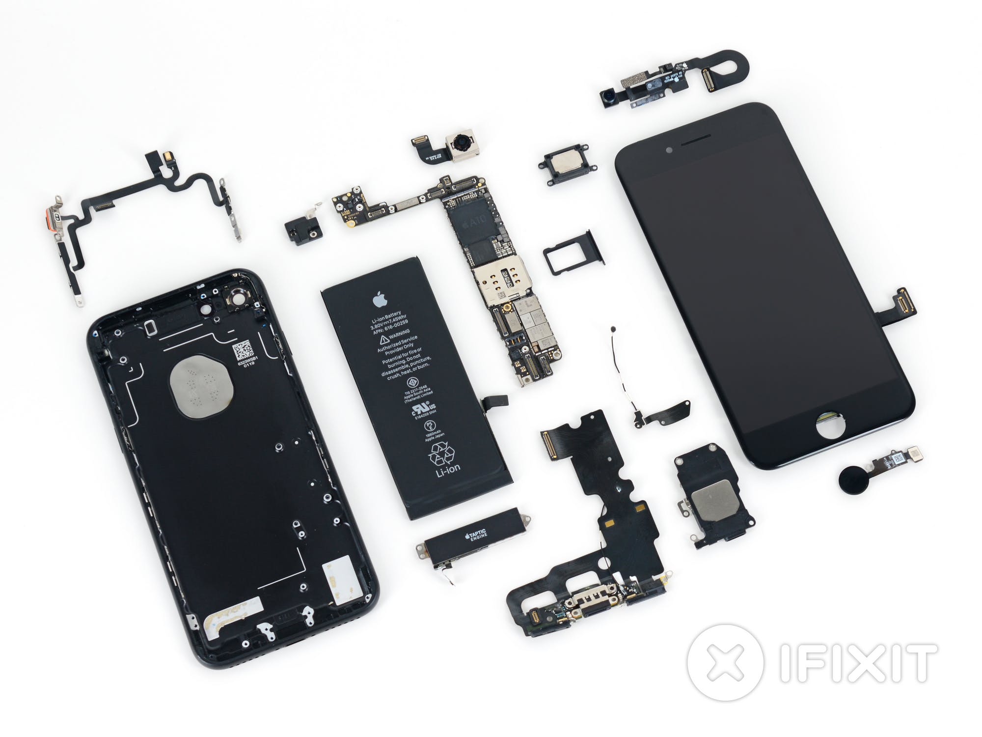 iPhone 7 teardown Source: iFixit