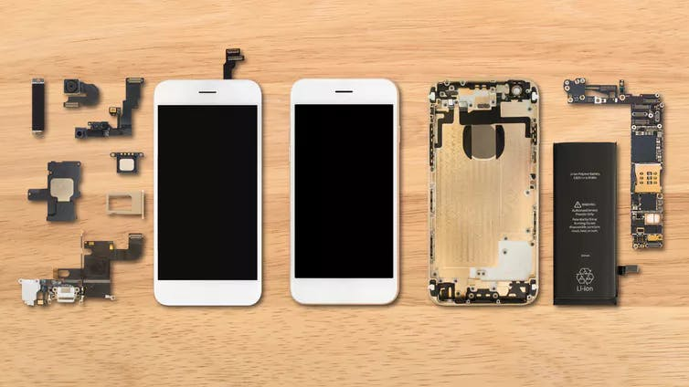 Our mobile phones are complex and require more than 40 irreplaceable metals and components to be made.