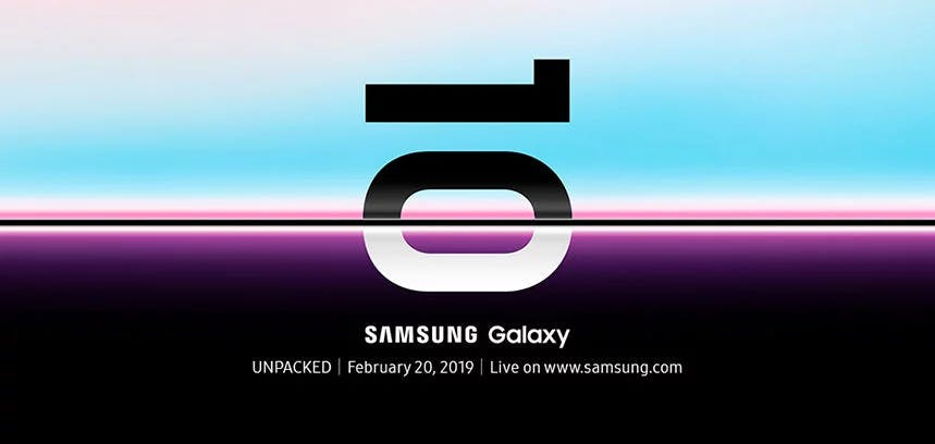 Samsung's Unpacked event kicks off at 7pm on February 20th