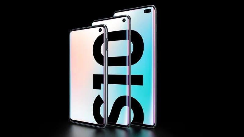 Samsung Galaxy S10 family: S10e, S10 and S10 Plus Source: Samsung