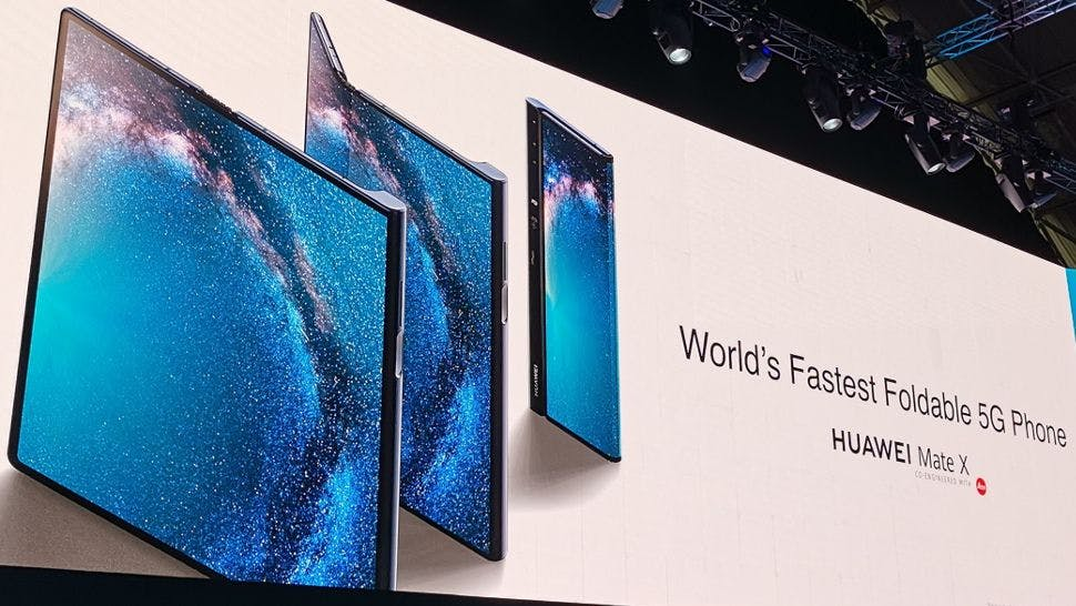 Huawei Mate X advertised at MWC 2019