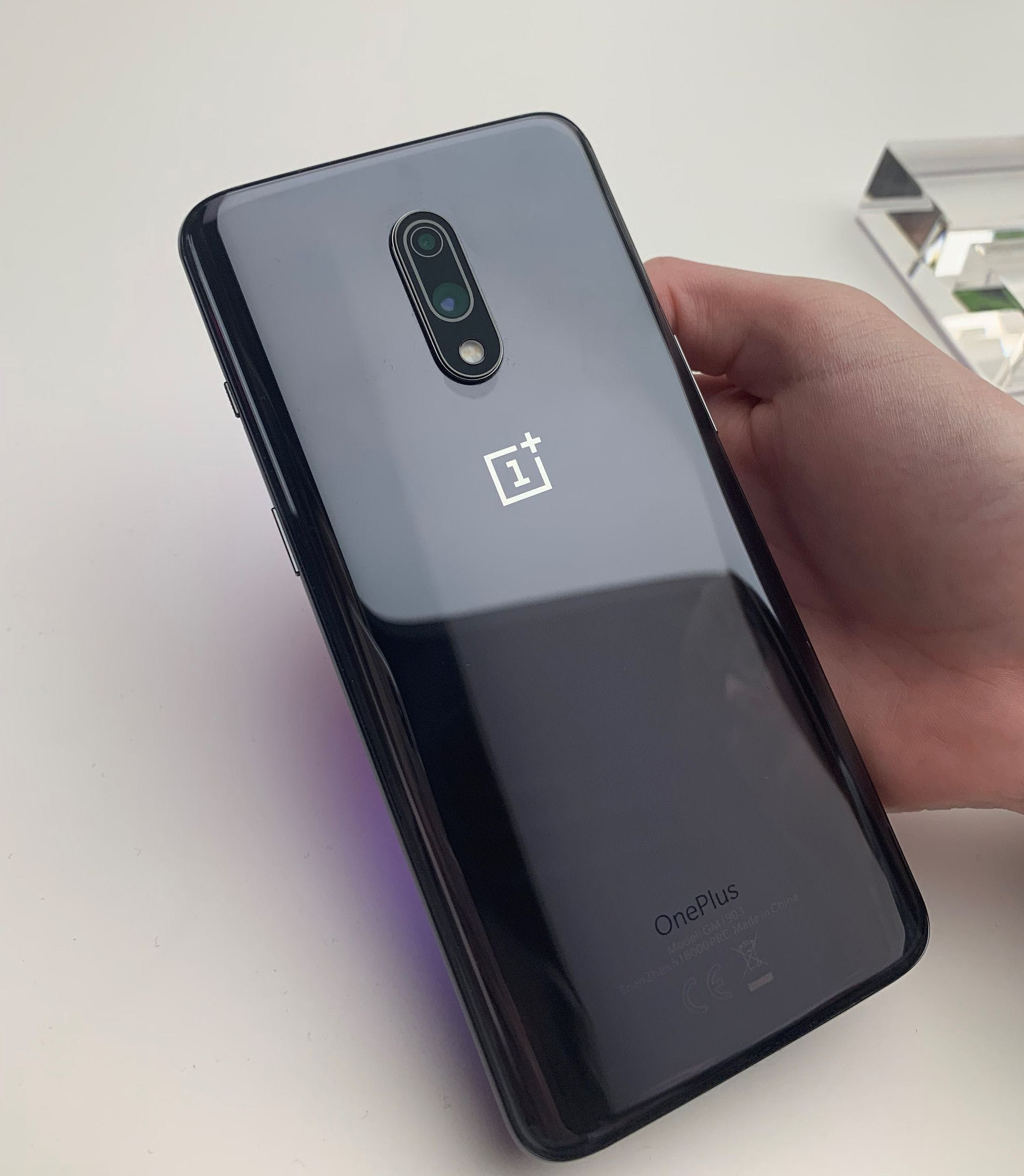 Rear camera set-up on the OnePlus 7