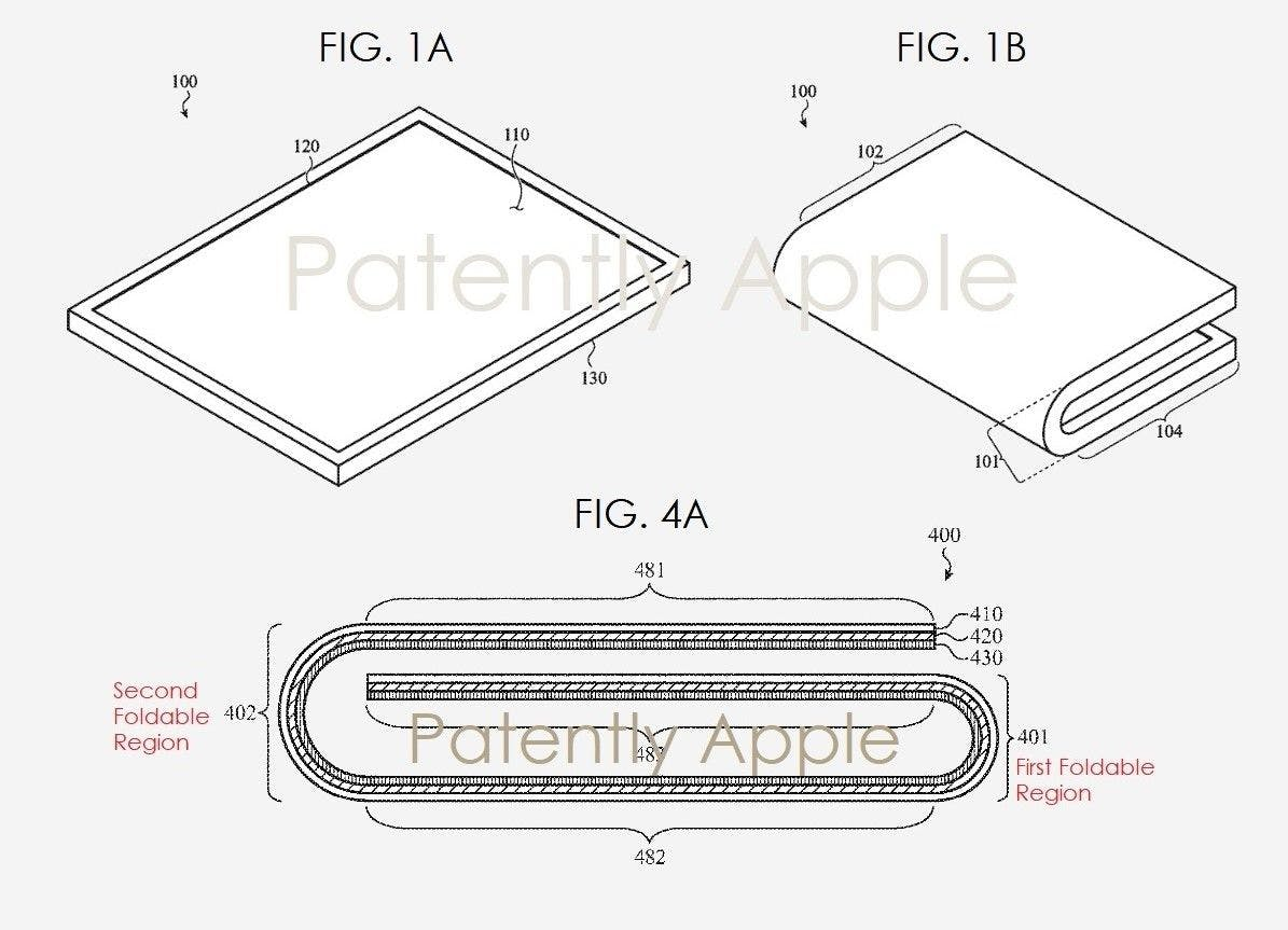 Apple's foldable devices patent / Patently Apple