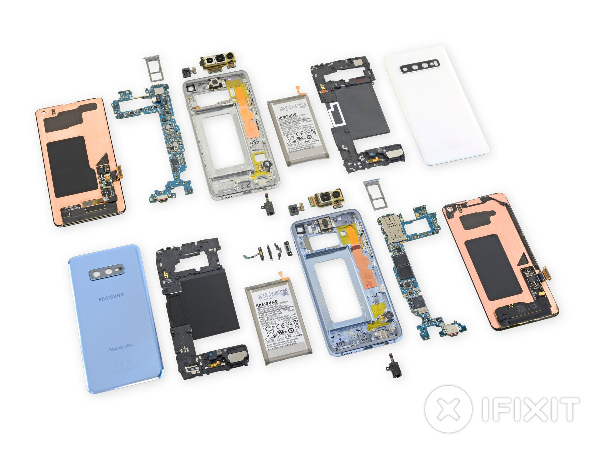 Samsung Galaxy S10 taken apart by iFixit