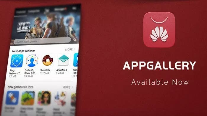 Huawei does have their own AppGallery