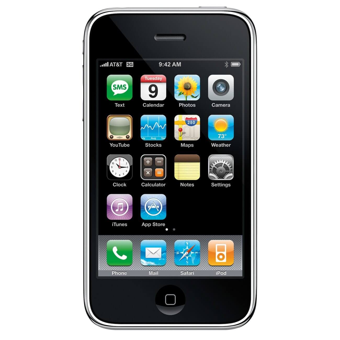 The iPhone 3GS is a reminder of the less sophisticated smartphone technology that we used a decade ago
