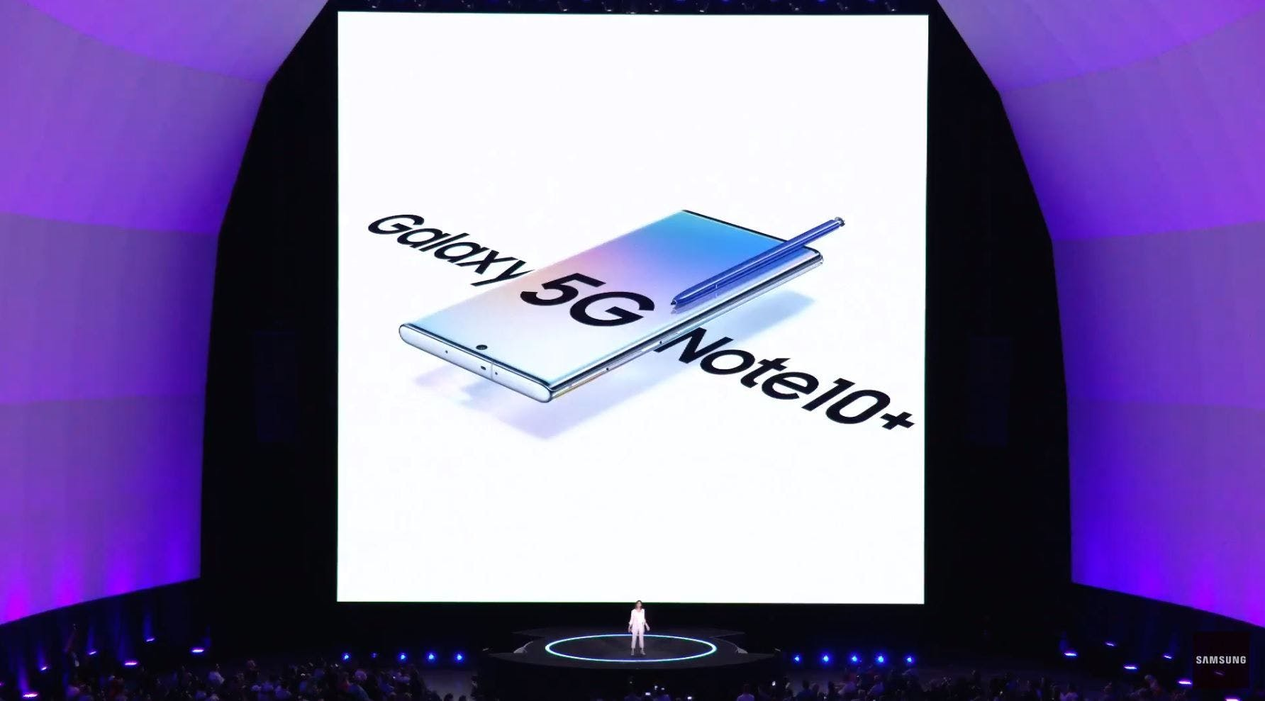 Samsung's Unpacked Event August 2019 Source: Samsung
